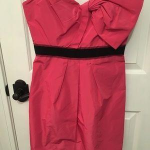 BCBG MAXAZRIA pink strapless cocktail dress size 6